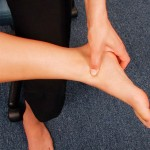 Pressure point of the ankle mortise