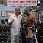Dr. James Stoxen DC and Shonie Carter at Team Doctors, Chicago IL