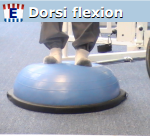Bosu Ball Foot Training