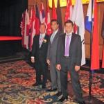 Dr. James Stoxen DC, Dr. Amir Majidi DC and Dr. John Petrozzi