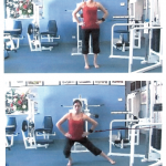 Side Lunge With Cable