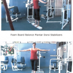 Foam Board Balance Plantar Dorsi Stabilizers and Pronation Supination Stabilizers