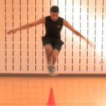 Double Leg Cone Jumps