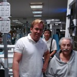 Dr. James Stoxen DC with legendary Joe Weider
