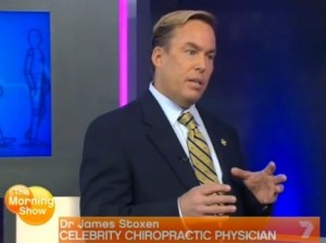 Celebrity Chiropractor Dr. James Stoxen DC