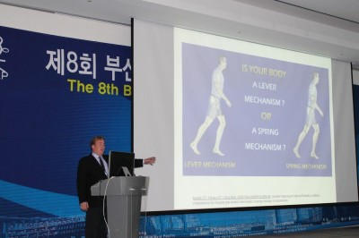 Dr James Stoxen DC lectures in Busan, Korea